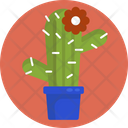 Cactus Flower Plant Icon