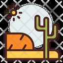 Cactus Plant Flower Icon