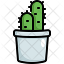 Cactus Succulent Pot Icon