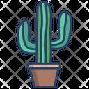Cactus Pot Cacti Icon