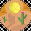 Nature Cactus Flower Icon
