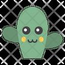 Cactus Emoji Emoticon Emotion Icon