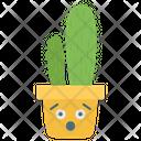 Armatocereus Polygonus Cactus Plant Cartoon Cactus Icon