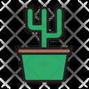 Cactus Flower Gardening Icon