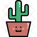 Cactus Nature Summer Icon