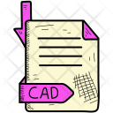 Cad Document Format Icon