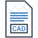 Cad Document File Icon