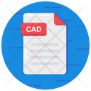 Cad File File Format Cad Extension Icon