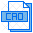 Cad File File Type Icon