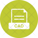 Cad File Extension Icon