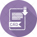 Cad Extension Document Icon