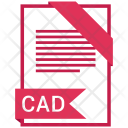 Cad Format Document Icon