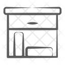 Caddy Drawer Caddy Box Drawers Icon