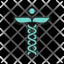 Caduceus Medical Healthcare Icon