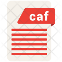 Caf Format Document Icon