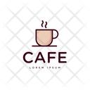 Cafe Symbol Cafe Logo Cafe Logomark Icon