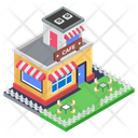 Cafeteria Cafe Snack Bar Icon