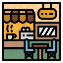 Cafe Shop Coffee Icon