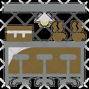Cafe Barista Coffee Shop Icon