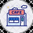Cafe House Shop Icon