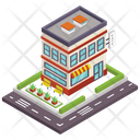 Cafeteria Cafe Cafe Building Icon