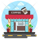 Cafe Coffee Bar Snack Bar Icon