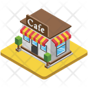 Cafe Cafeteria Restaurant Icon