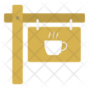 Cafe Board Tea Icon