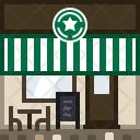 Cafe Shop Building Icon