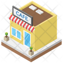Cafe Coffee Shop Restaurant Icon