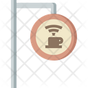 Cafe label Icon