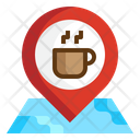 Icoffee Location Map Icon