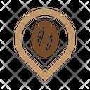 Coffee Geotag Icon
