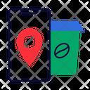Cafe Location Location Pin Icon