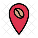 Cafe Location Map Location Icon