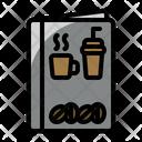 Cafe Menu Cafe Coffee Shop Icon