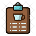 Menu Coffee Coffee Shop Icon