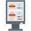 Order Terminal Burger Icon