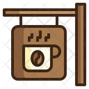 Cafe Signboard Icon