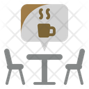 Cafe Table Break Coffee Icon