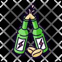 Caffeinated Alcoholic Drink Icon
