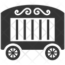 Cage Cart Circus Cart Icon