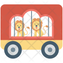 Cage Circus Cart Icon