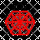 Cage Cat Dog Icon