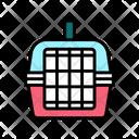 Cage Transportation Pet Icon