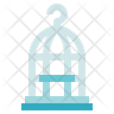 Charity Donation Cage Icon