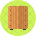 Cajon Instrument Music Instrument Icon