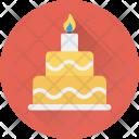 Birthday Cake Christmas Icon