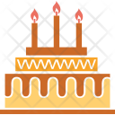Cake Birthday Anniversary Icon