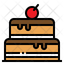 Cake Cherry Bakery Icon